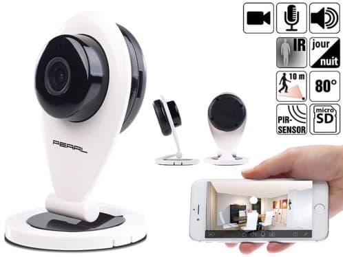Exemple de caméra Ip en promotion